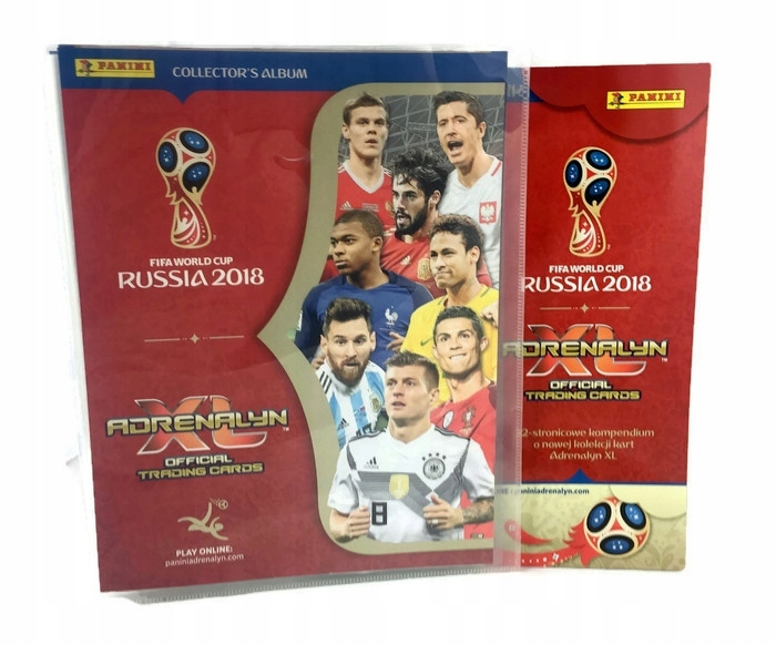 c24be07d9 2018 PANINI ALBUM WORLD CUP RUSSIA 100 kart + 6 LE - 7249242569 ...