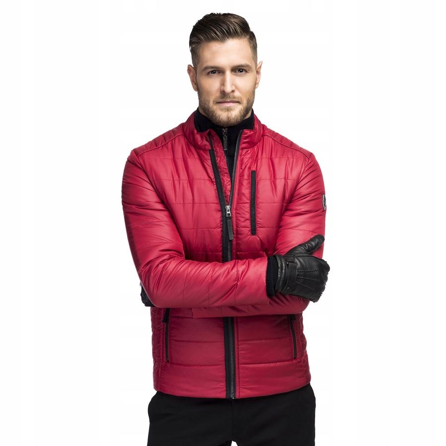 aed1ca428c8a0 Kurtka męska zimowa czerwona Giacomo Conti - 7600180328 - oficjalne ...