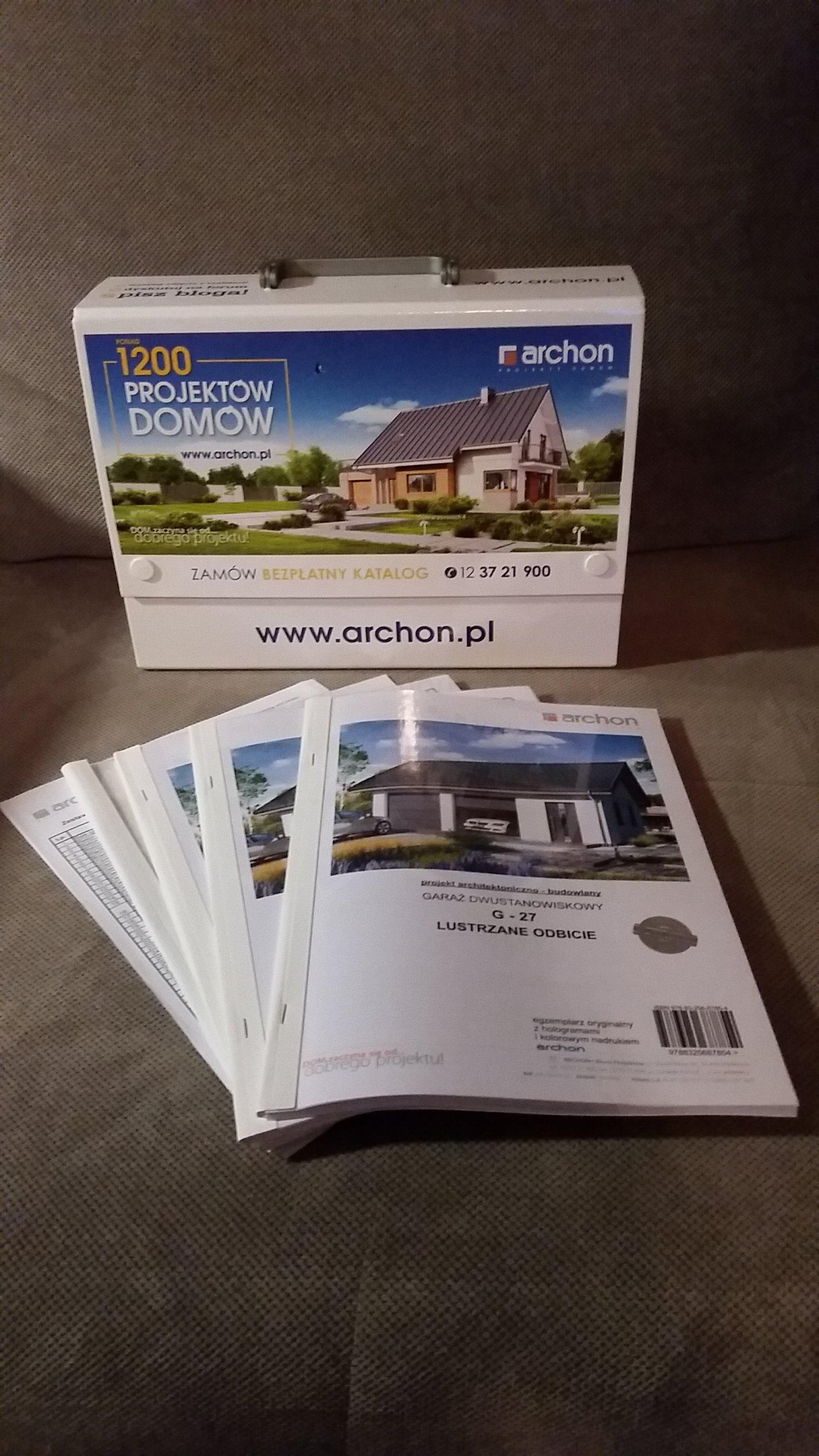 Projekt Garażu Archon 7283298707 Oficjalne Archiwum Allegro