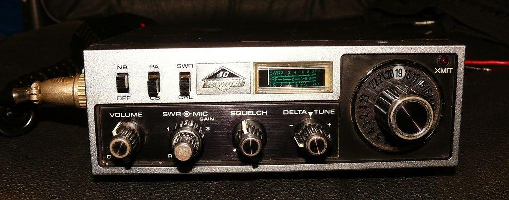 cb radio DIAMOND 40 made in JAPAN - 7255231567 - oficjalne