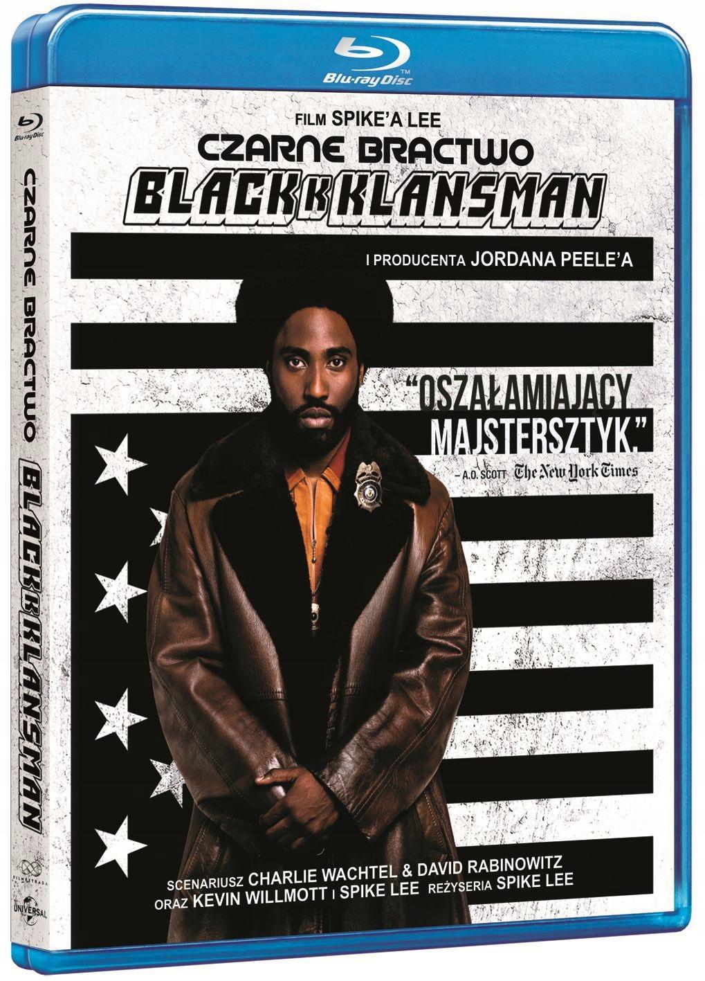 CZARNE BRACTWO. BLACKKKLANSMAN [BLU-RAY]