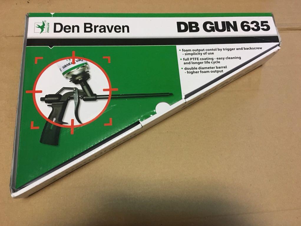 Pistolet do pianki TEFLON Den Braven 635 - 7136710359