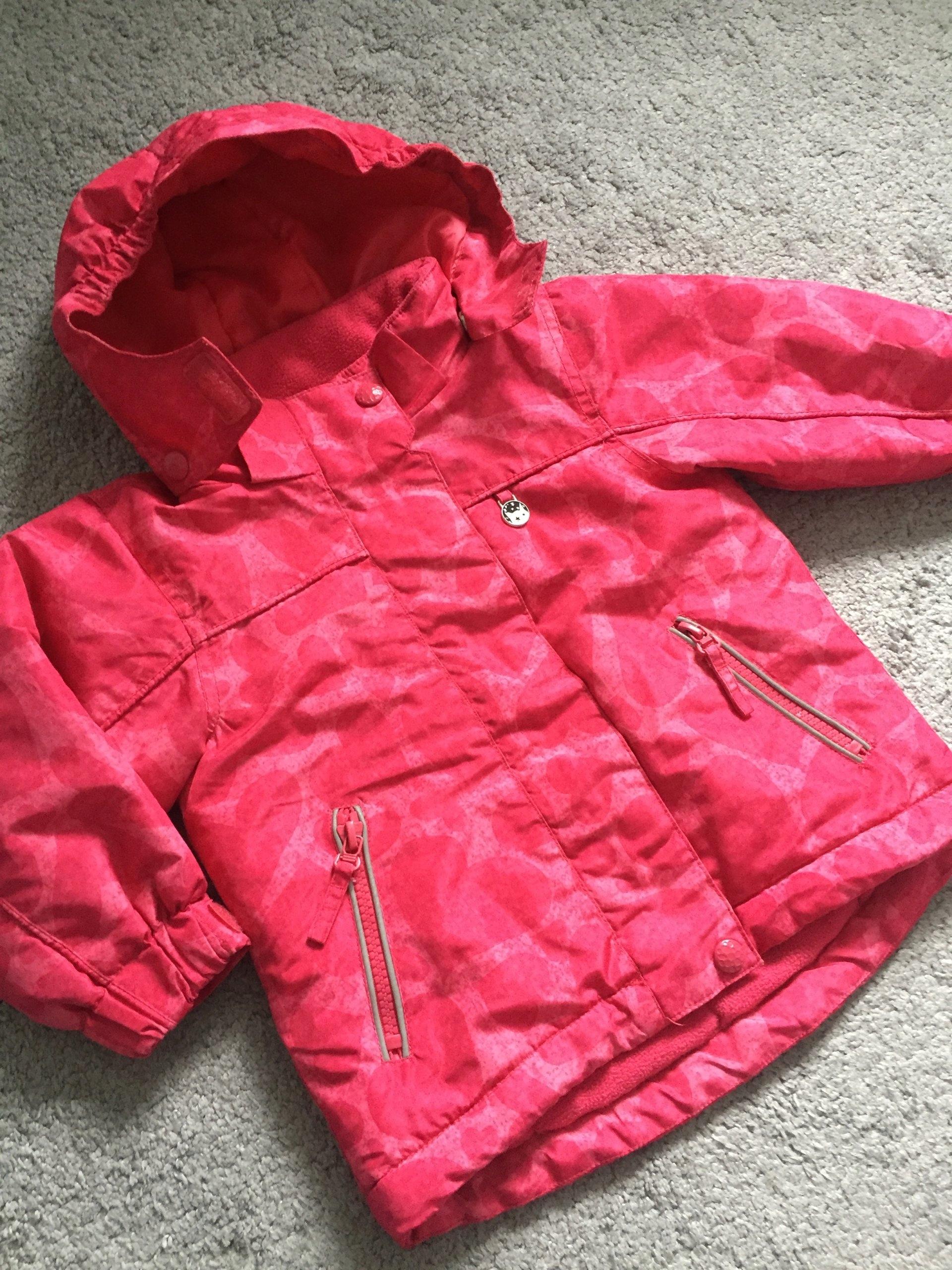 de3e5b5d1b826 Zimowa kurtka Reserved dziewczynka r.86 róż - 7433679402 - oficjalne ...