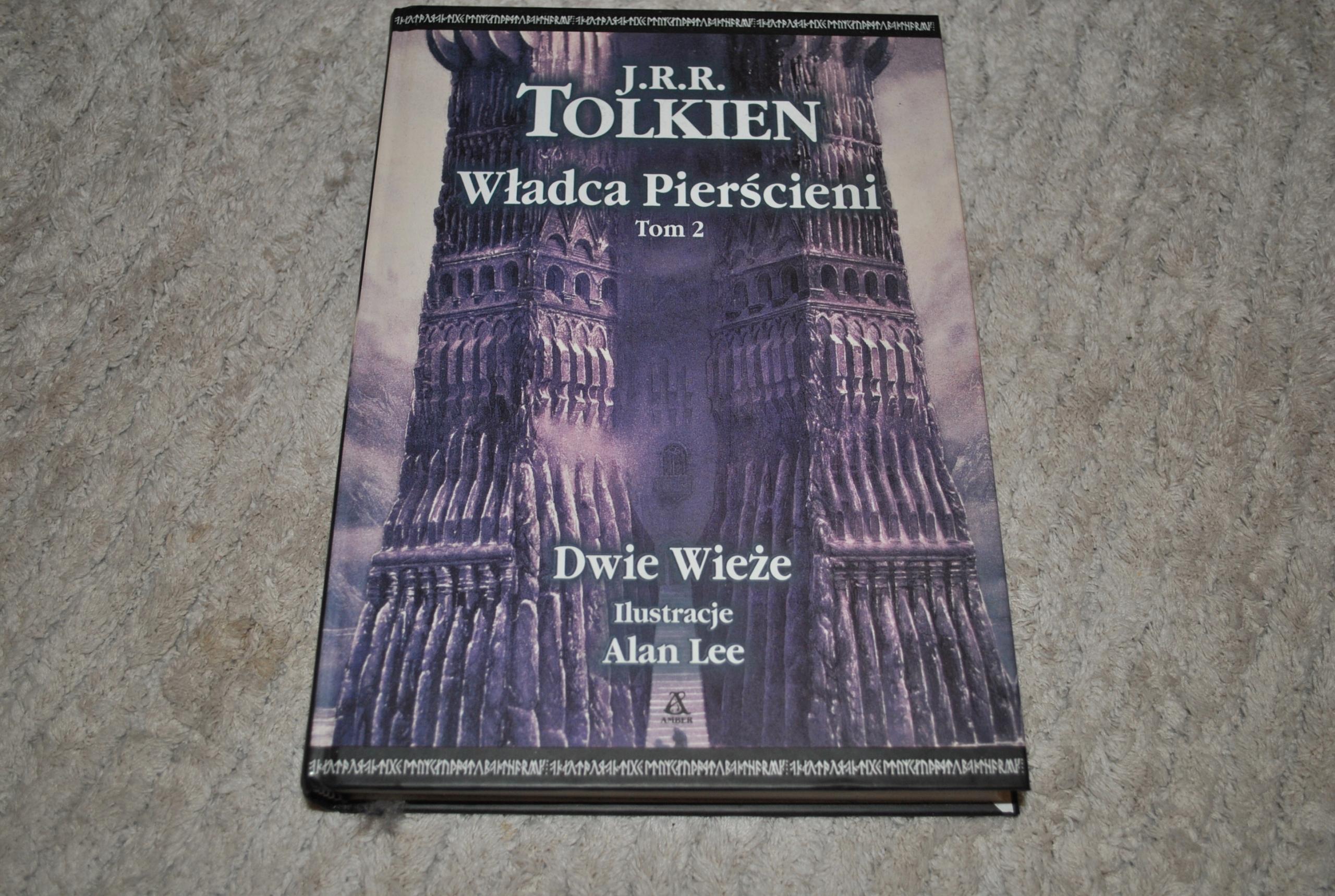 Władca Pierścieni Tom Ii Dwie Wieże Tolkien 7538101918 Oficjalne