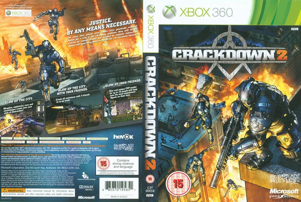 CRACKDOWN 2 II XBOX 360