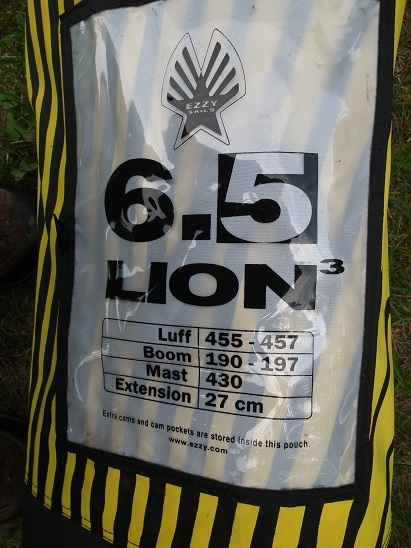 Ezzy lion 6.5 m 2016 2 kambery