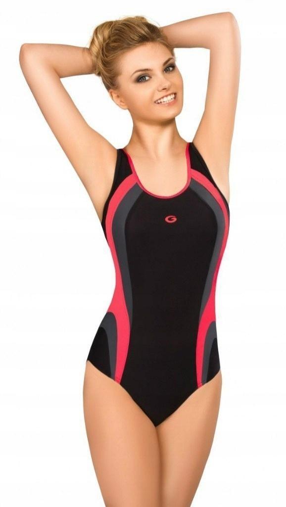 4c62f1e0ef1f31 Strój kąpielowy jednoczęściowy kostium pływacki 42 - 7260161301 ...