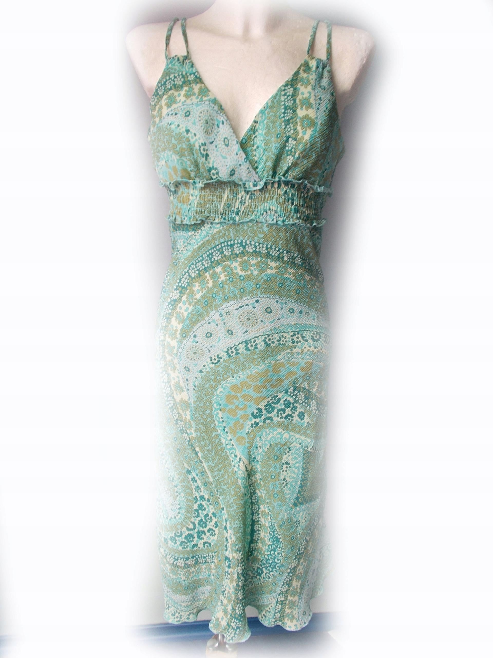 481682915f Śliczna WZORY sukienka na lato H M! R - 40 - 7535460302 - oficjalne ...