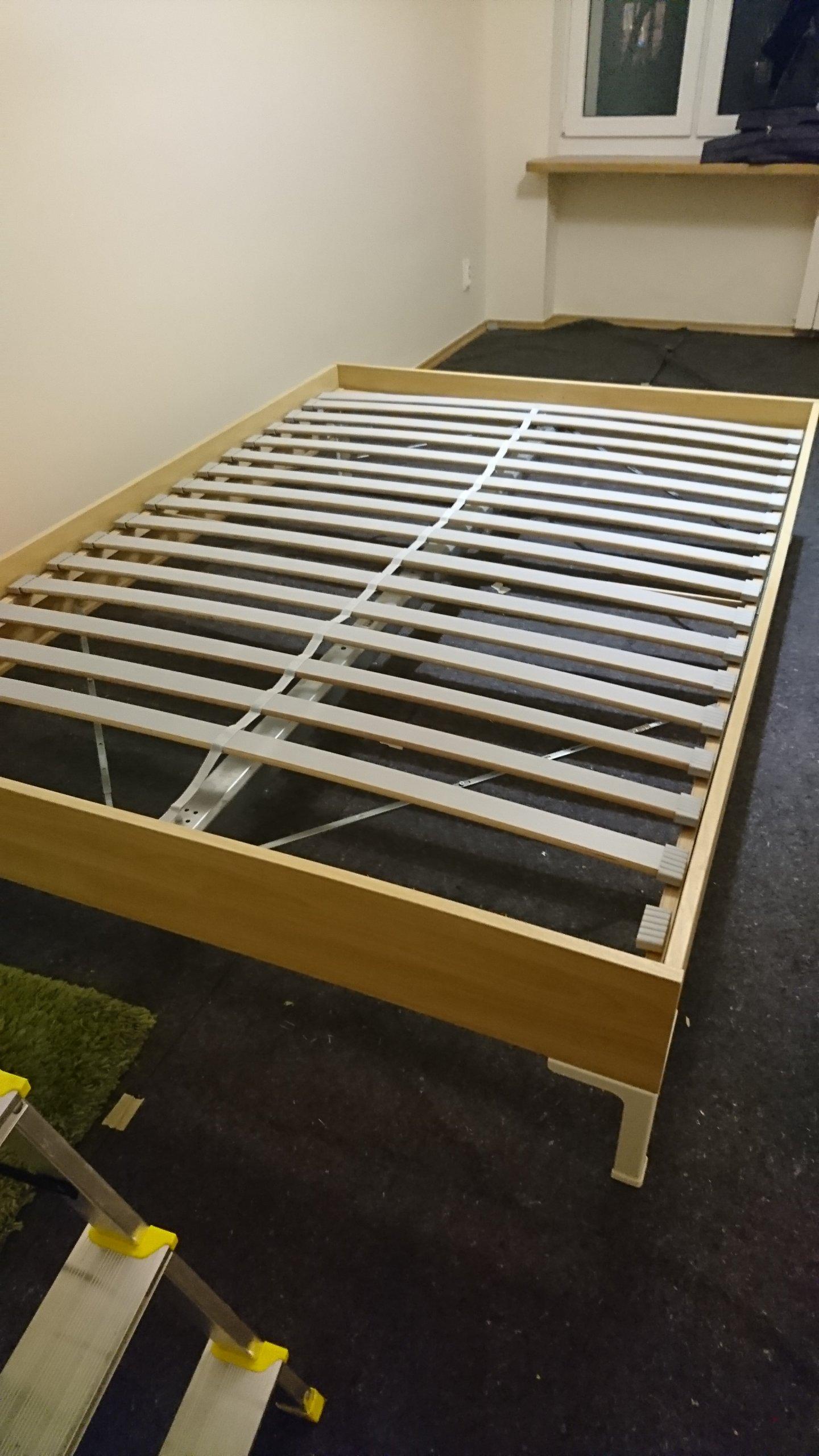 Komplet Ikea Engan Plus Sultan Lodingen Dno łóżka