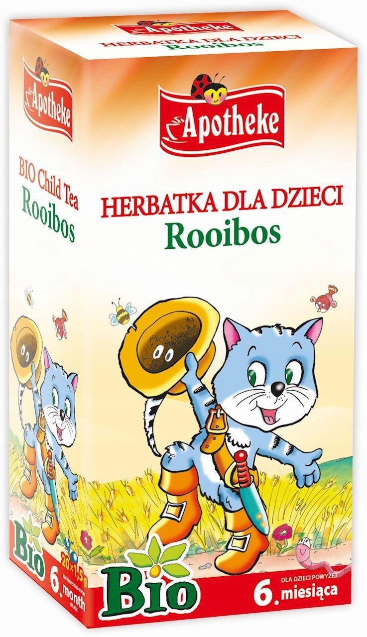 Apotheke Herbatka Dla Dzieci Rooibos Bio 20 x 1,5g