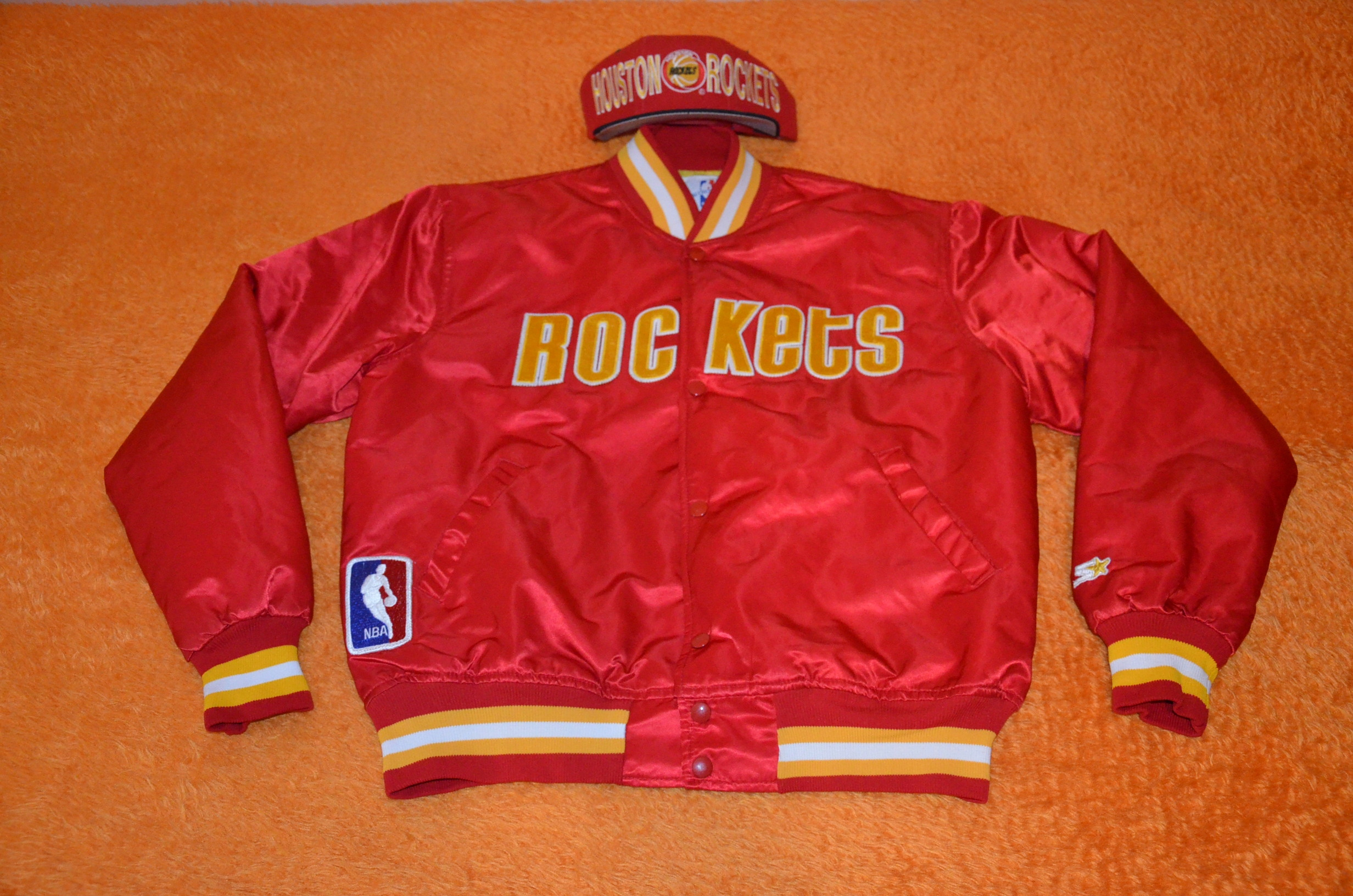 NBA HOUSTON ROCKETS STARTER AUTHENTIC 80's UNIKAT!