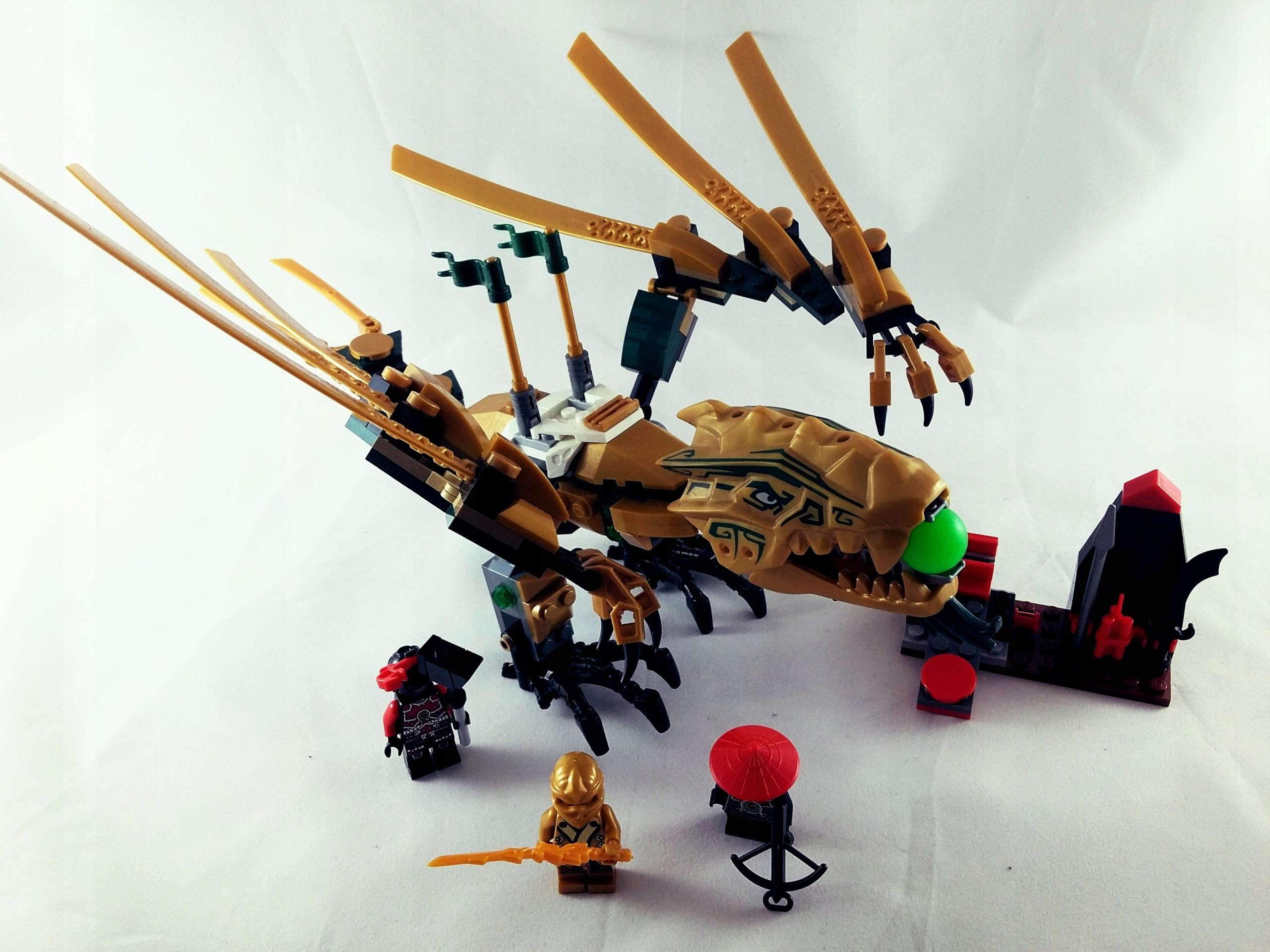Lego Ninjago 70503 Złoty Smok 7606473185 Oficjalne Archiwum