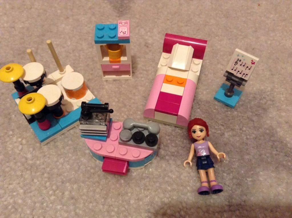 Lego Friends Pokój Mii 3939 7425819585 Oficjalne Archiwum Allegro