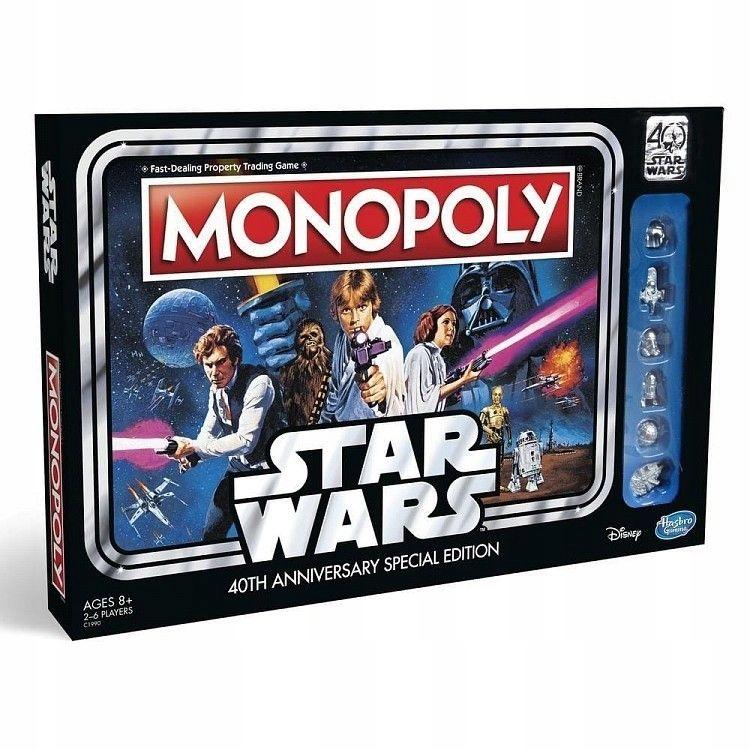 Hasbro Gra Monopoly Star Wars