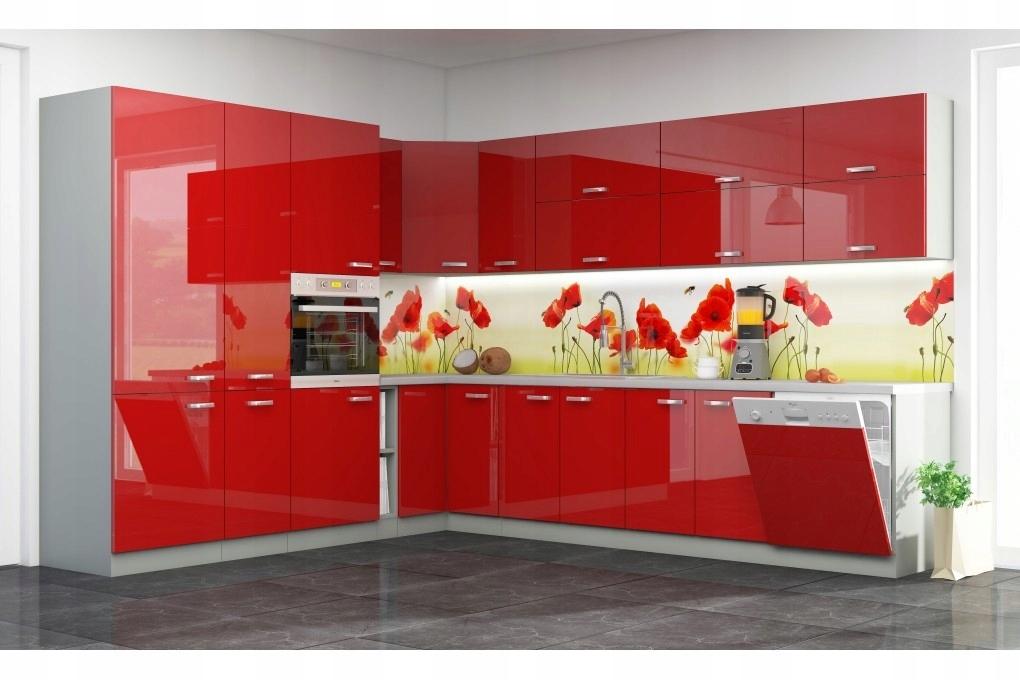 Meble Kuchenne Czerwone Wysoki Polysk 265x330 7577050551