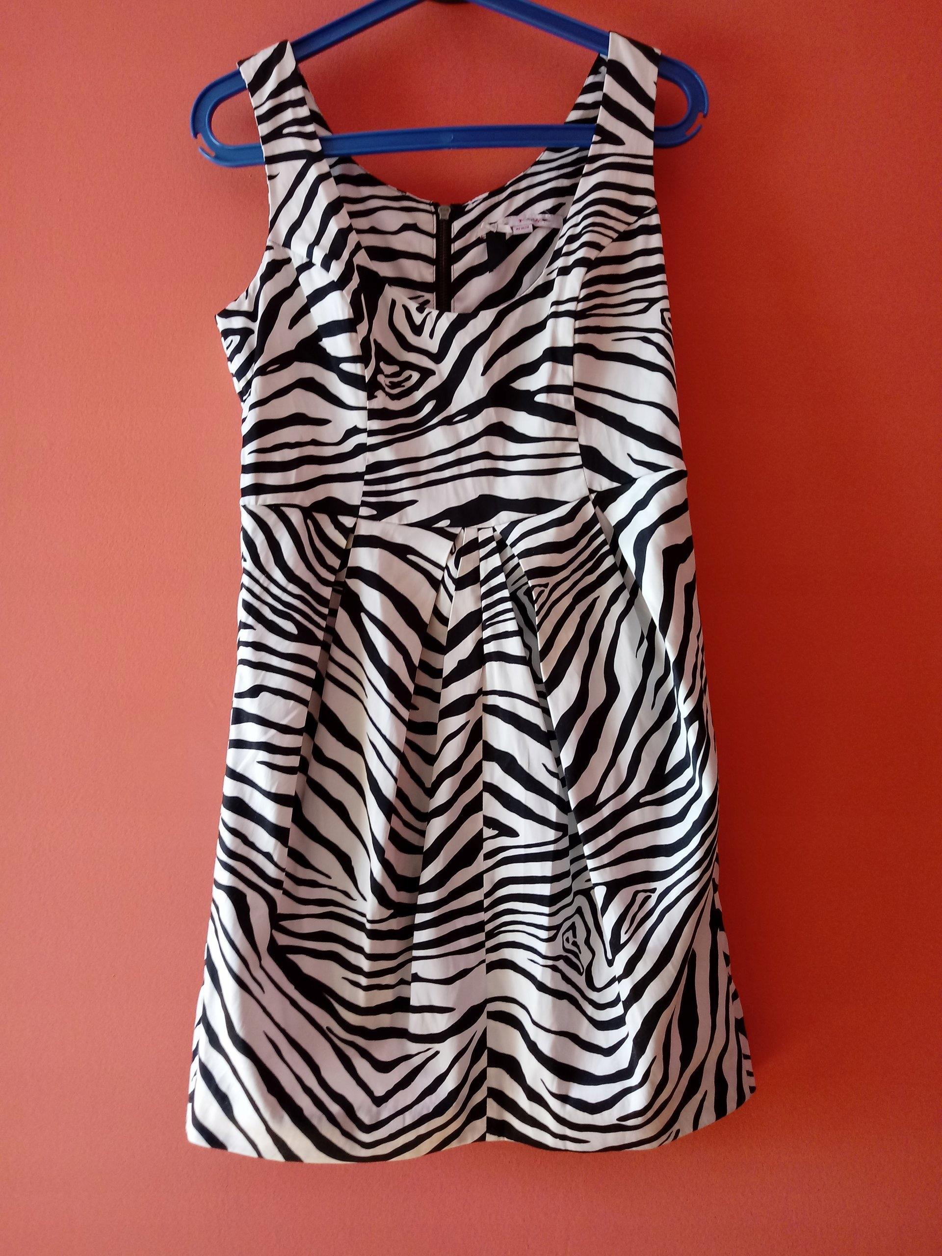 02f2149290 elegancka sukienka zebra marszczenia zip - 7316420482 - oficjalne ...