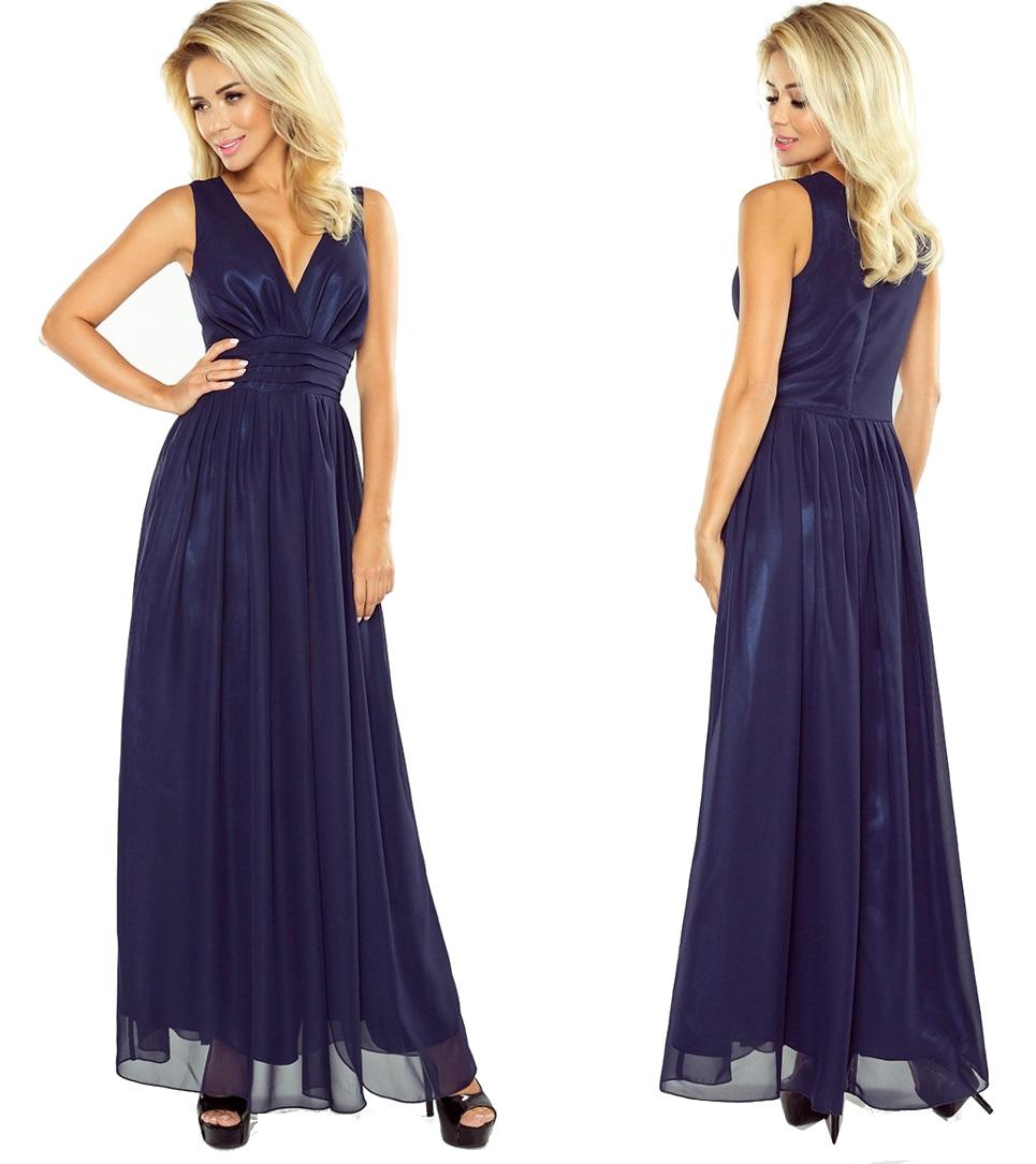962543fe64 Piękna Długa Sukienka MAXI NA WESELE 166-1 r.M 38 - 7153804793 ...