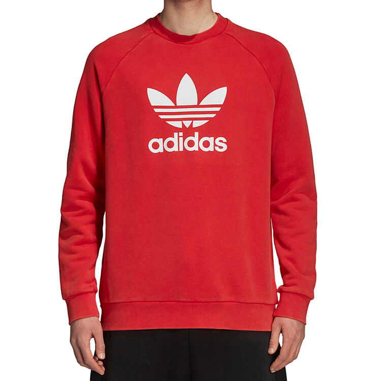 c3c88b812 Bluza adidas Trefoil Crew Sweatshirt DH5826 # L - 7551860093 ...