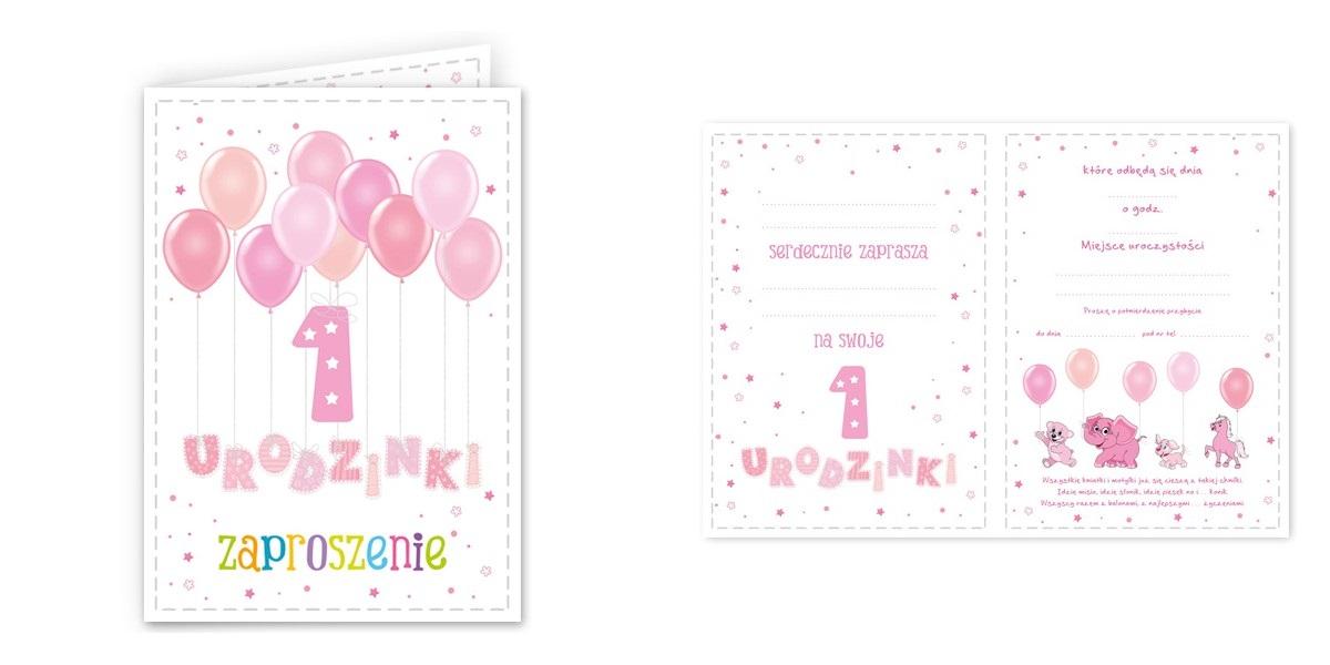 Zaproszenia Urodzinowe Na 1 Urodziny Roczek Wzory 7144187491