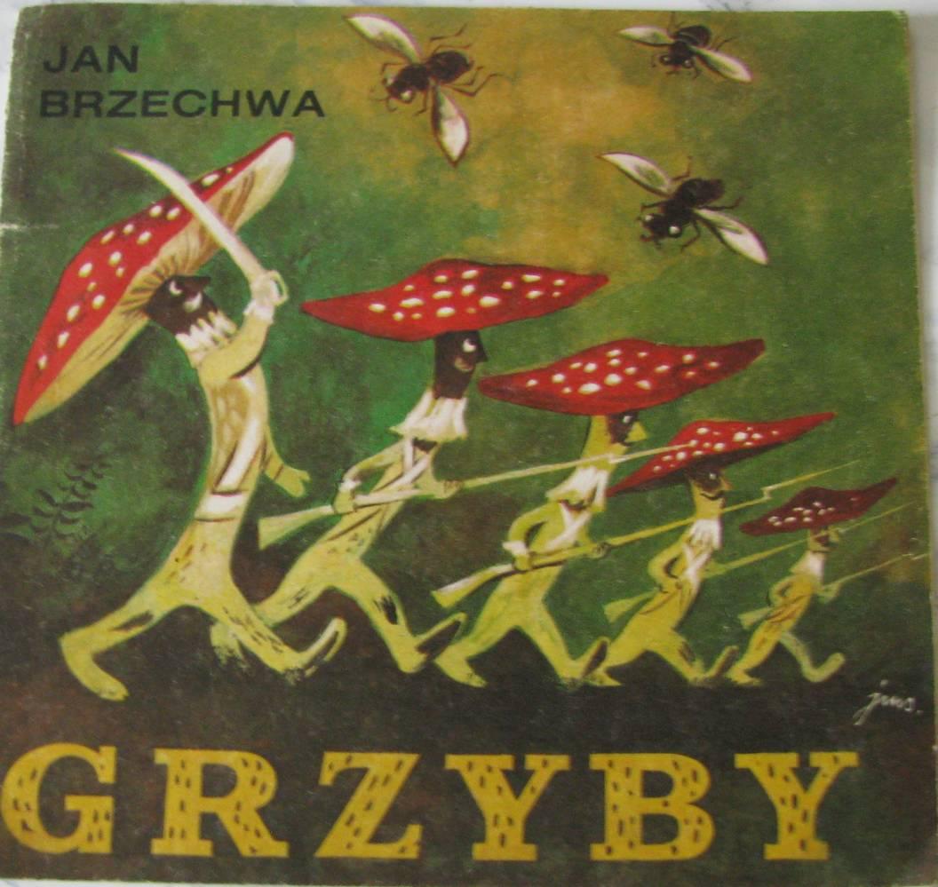 Grzyby Jan Brzechwa Il Szancer 1986 7340484047 Oficjalne