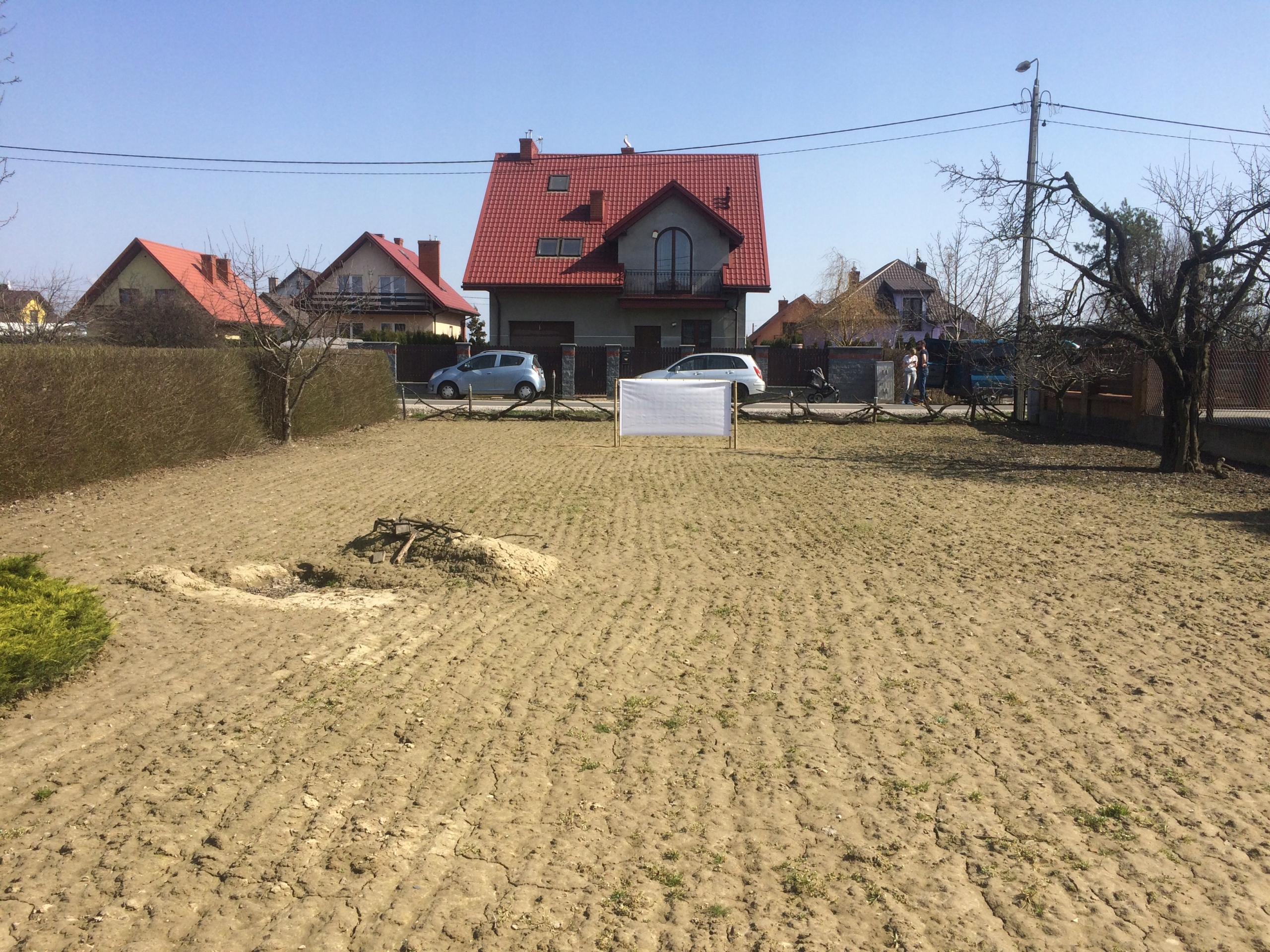 działka budowlana, Warszawa -Bronisze BEZPOŚREDNIO