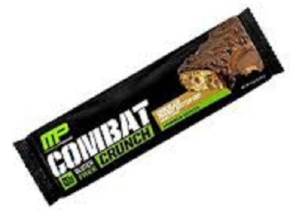 Muscle Pharm Combat Crunch Bar 63g WHITE RASPBERRY