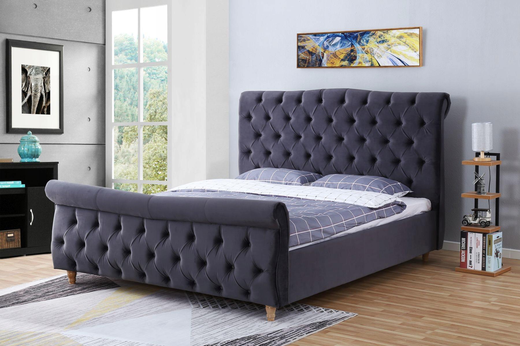 łóżko Tapicerowane Do Sypialni 1304 180x200 7699998226