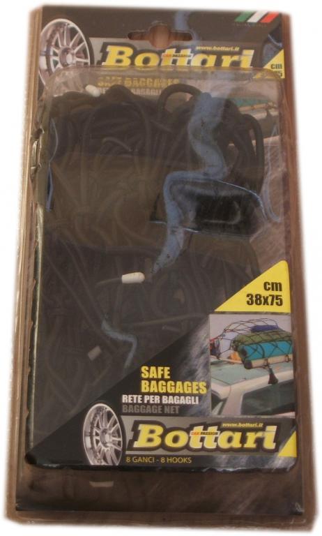 Siatka elastyczna do mocowania bagażu pajączek