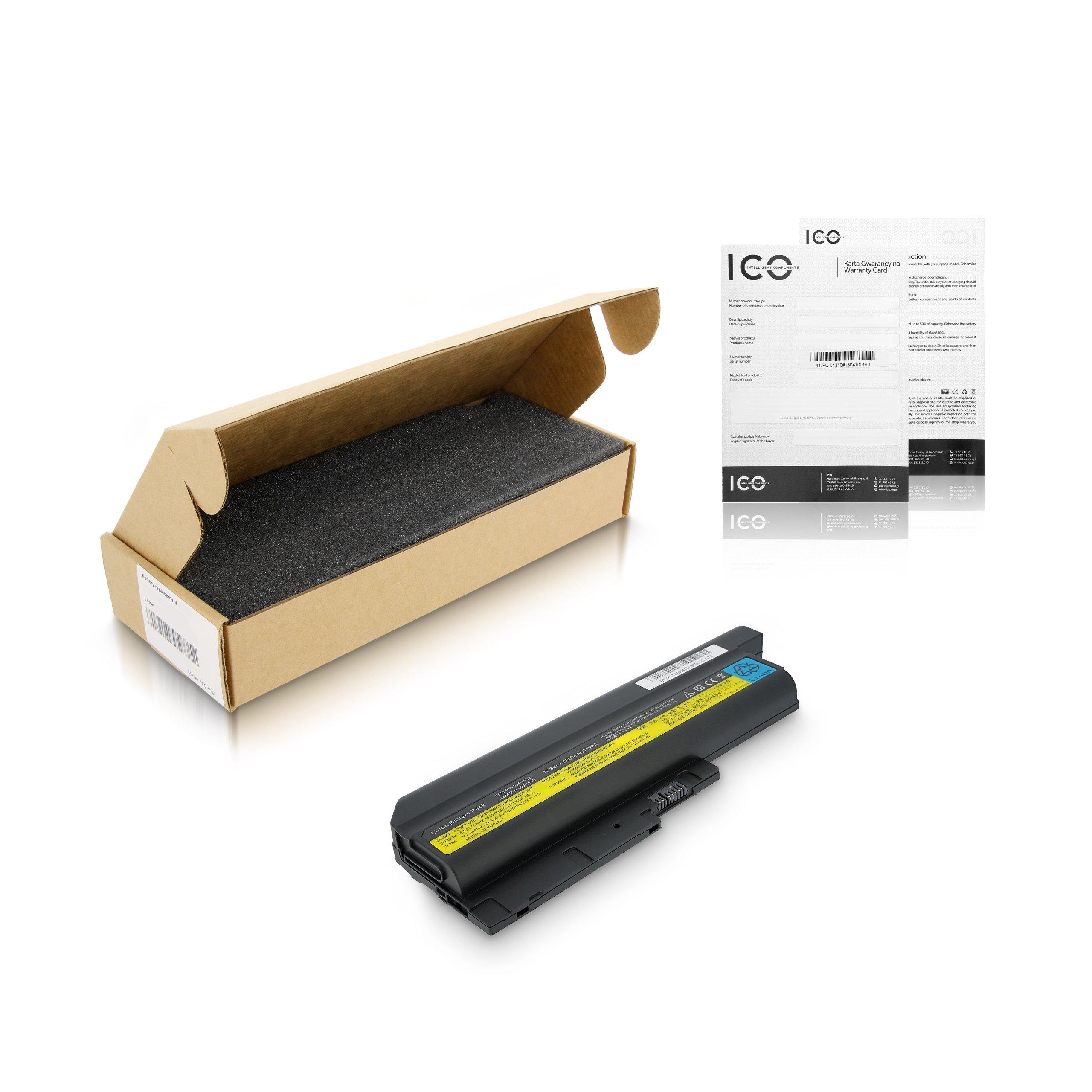 Bateria Lenovo Thinkpad T61 6458,6600mAh,FV