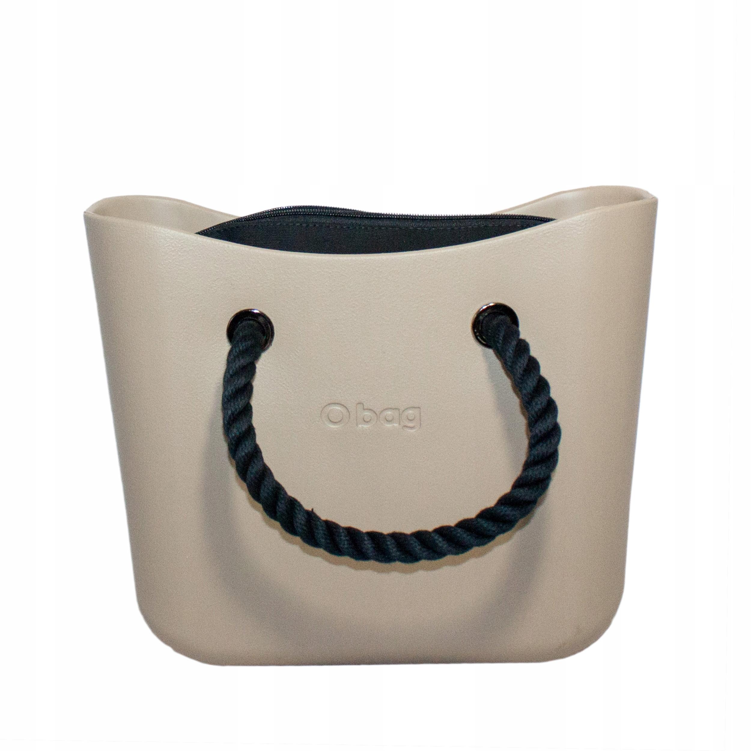 9dfbda131475a Mini O bag body Piaskowa Kr.Czarne Orgr Czarny - 7698434939 ...