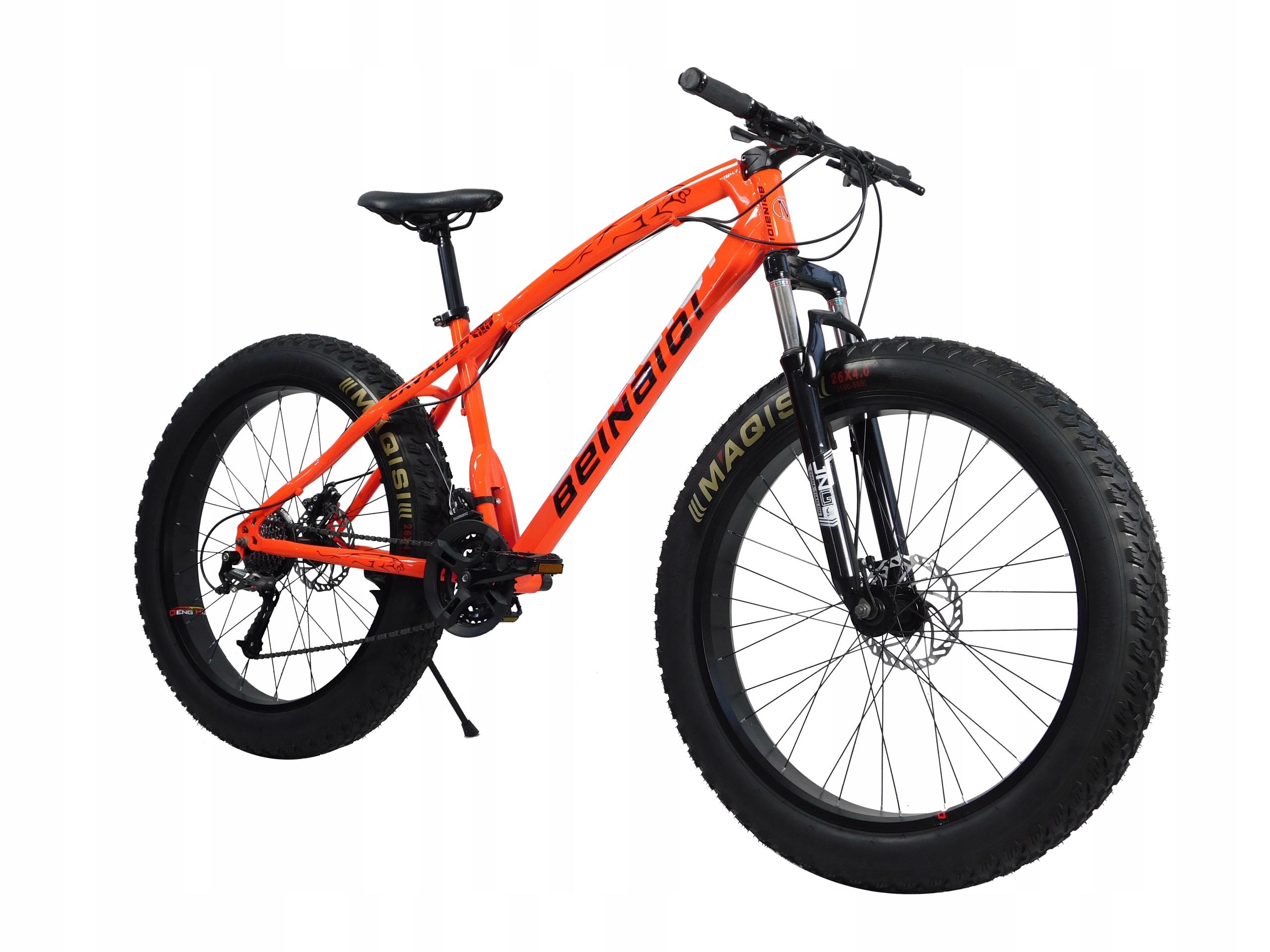 Rower FatBike Fat Bike Cavalier Czerwony ACERA
