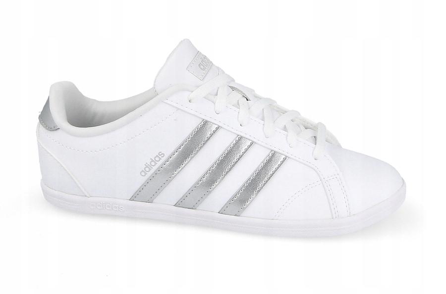 Trampki Promocja Damskie Adidas Vs Coneo Qt Tanie Czarne Białe