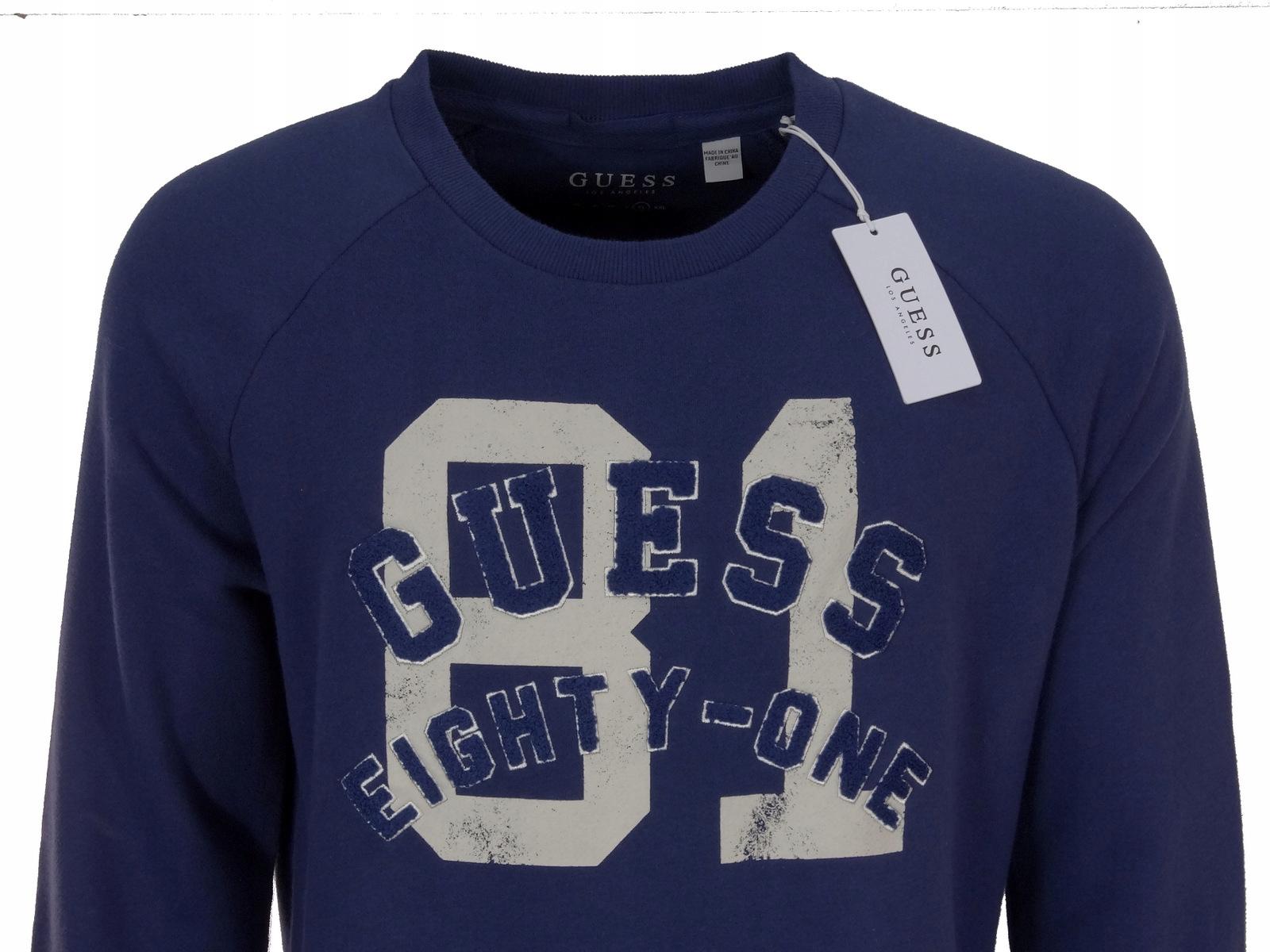 0e3a5c026bc03 GUESS bluza męska XL - 7582247493 - oficjalne archiwum allegro