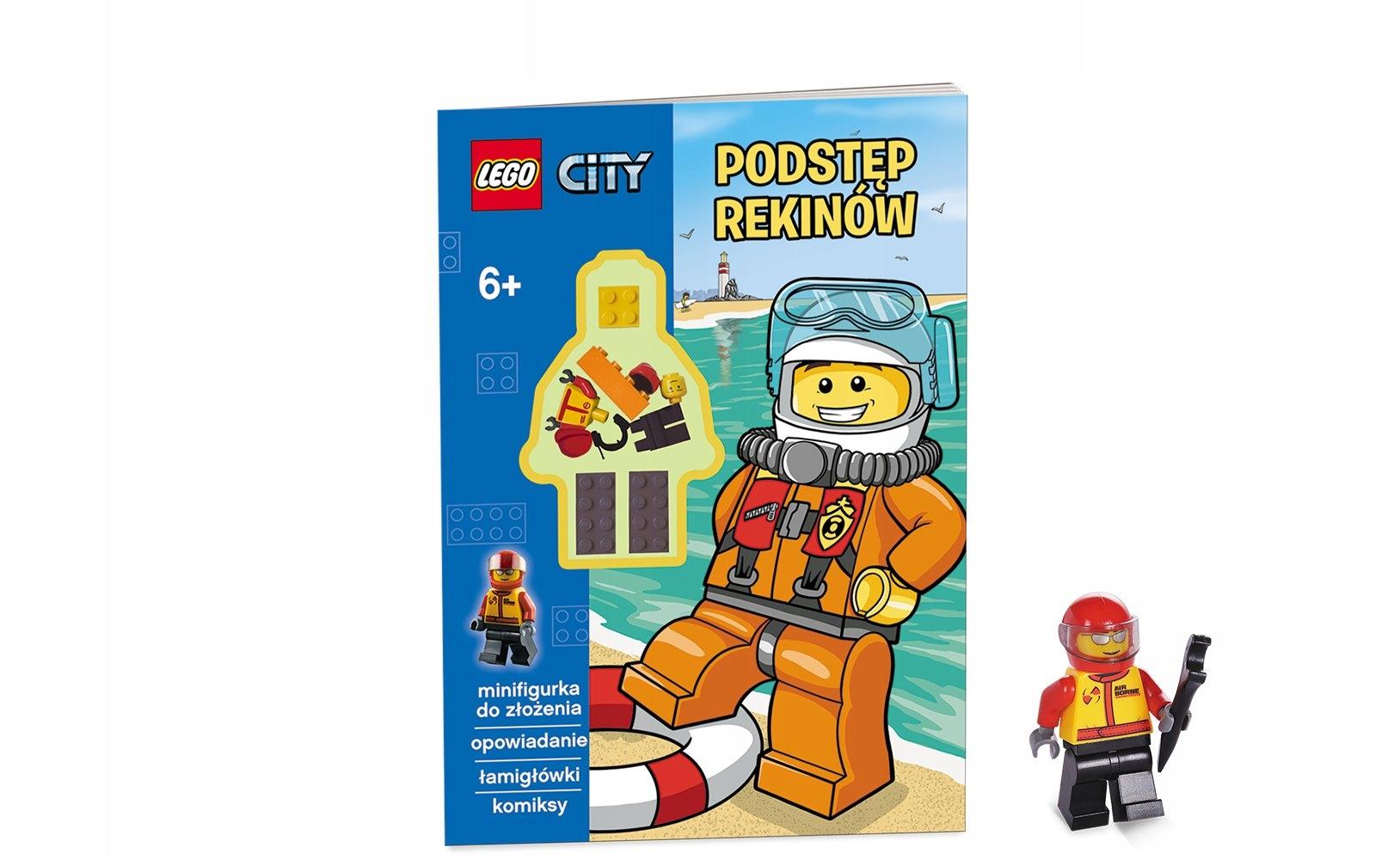 Lego City Podstęp Rekinów Opracowanie 6968516203 Oficjalne