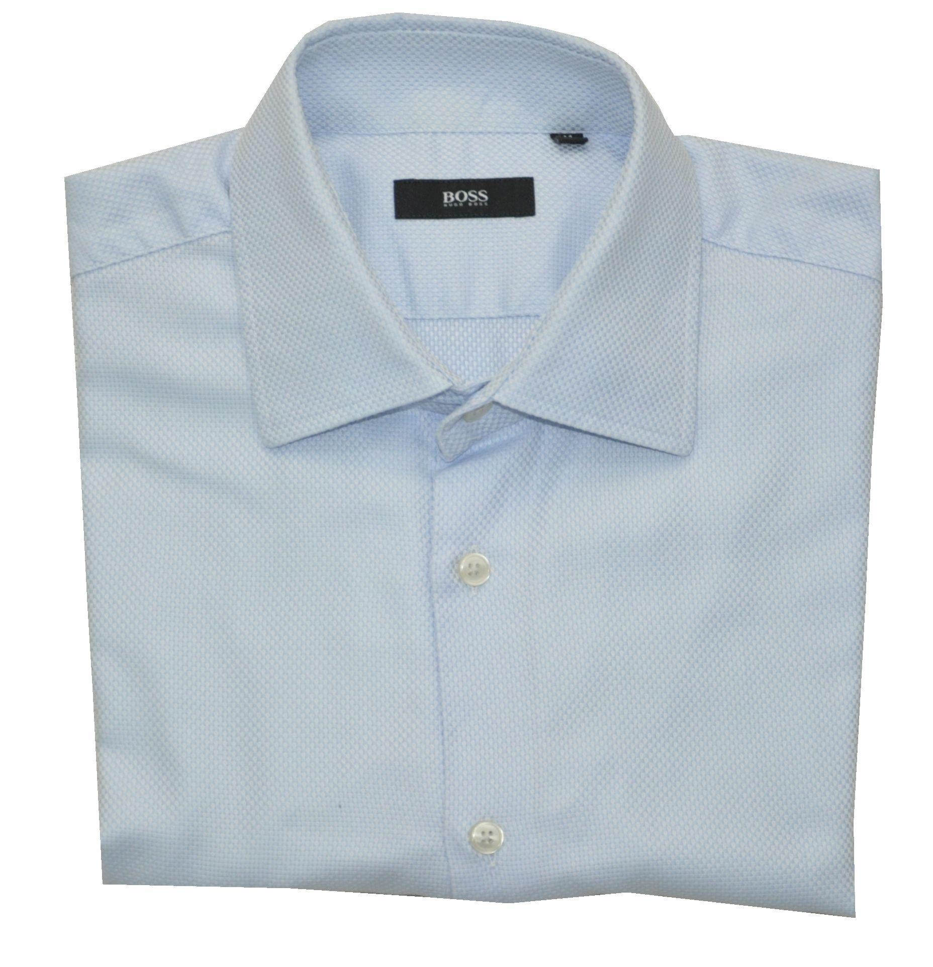 89cb2d7355d23 HUGO BOSS elegancka koszula męska M 41 spinki - 7076679096 ...