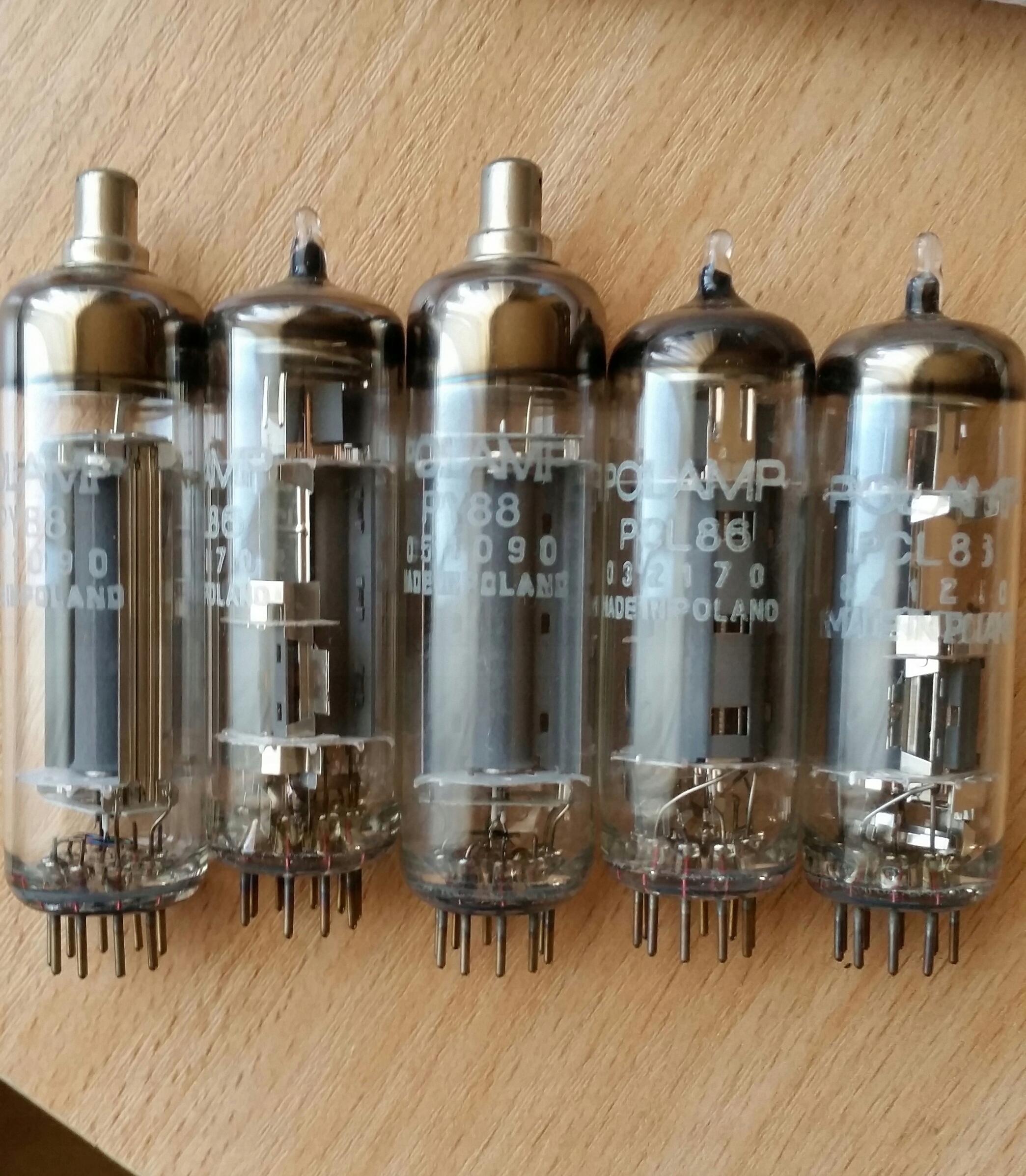 Lampy lampa elektronowa zestaw 50szt.- PY88 PCL86