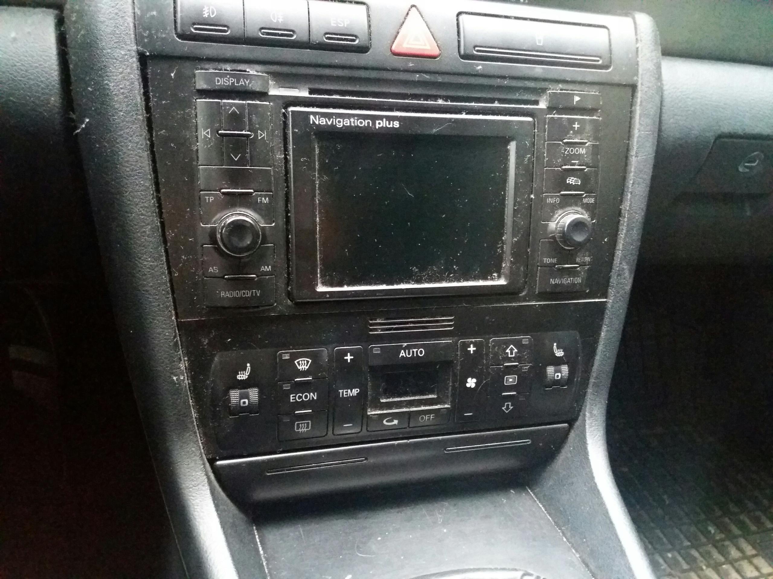 Radio Audi A4 B5 Navi Plus Rns D Zestaw Do Montażu 7641299464