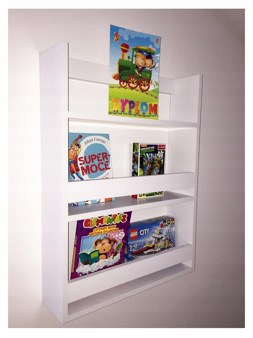 Półka Do Pokoju Dziecięcego Na Książki Producent
