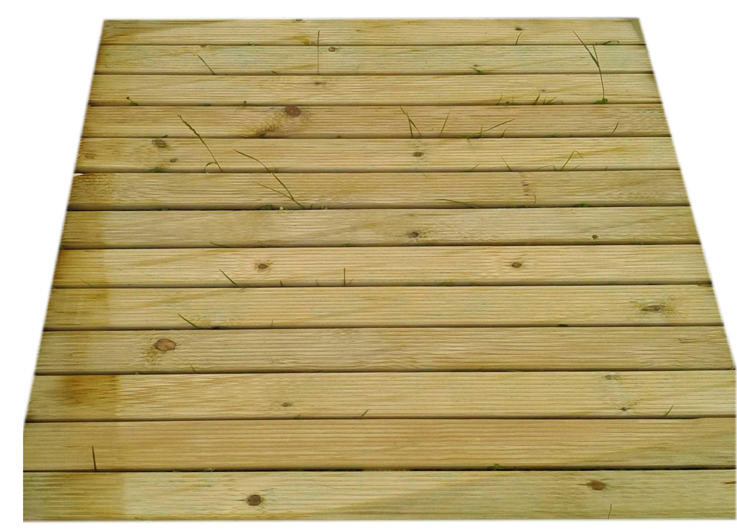 Podest Drewniany Podesty Tarasowe Ryflowane100x100