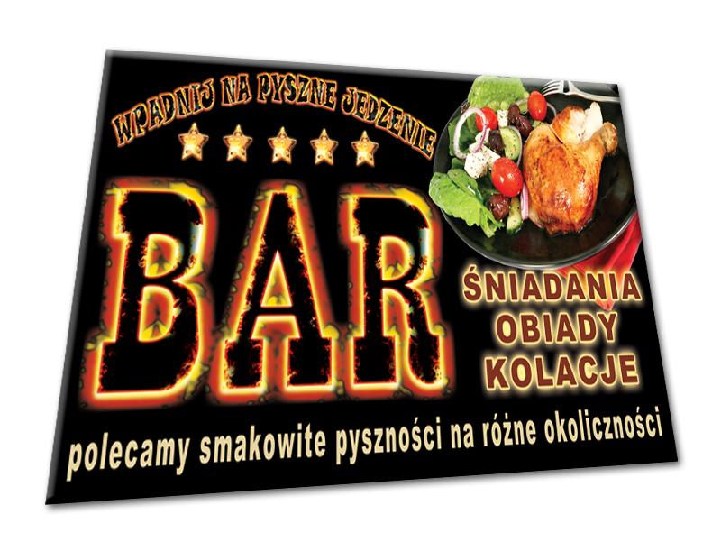Baner 25x1m Banery Reklama Bar Hamburger Hot Dog 5562016171
