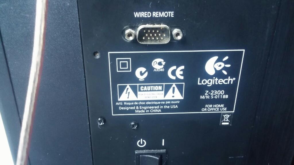 Logitech Z-2300 subwoofer - 7301268269 - oficjalne archiwum allegro