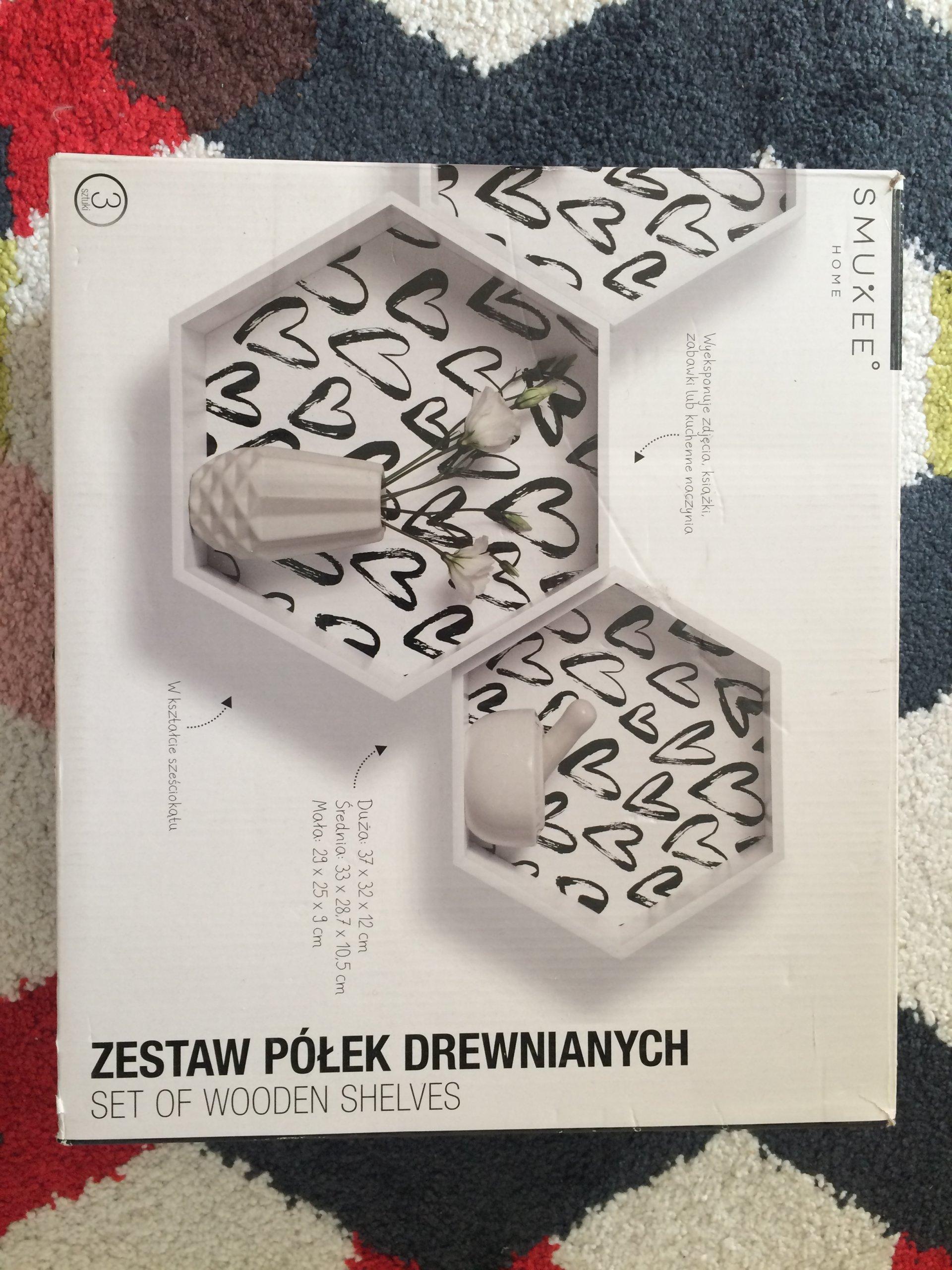 Półka Wisząca Smukee Zestaw Biedronka 7307688381