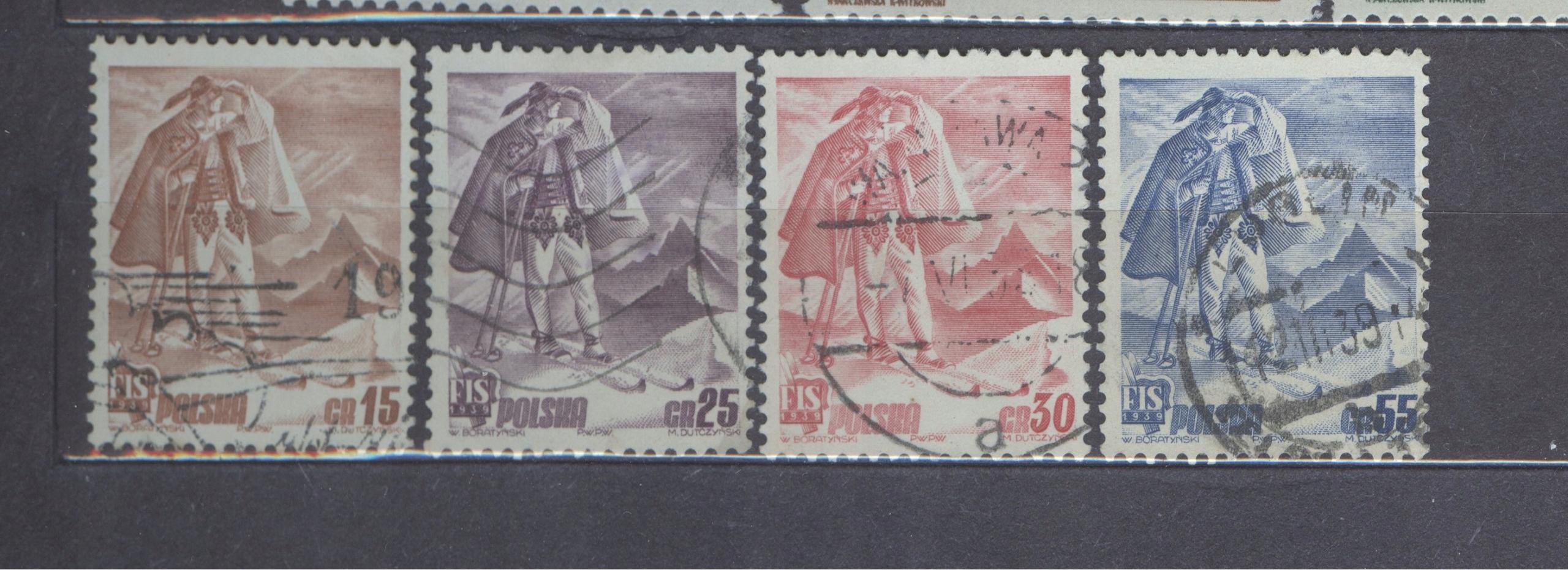 KASOWANY POLSKA - Fi 330-333
