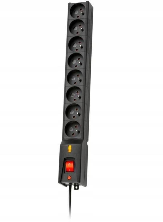 Listwa zasilająca Lestar LX 810 5m czarna