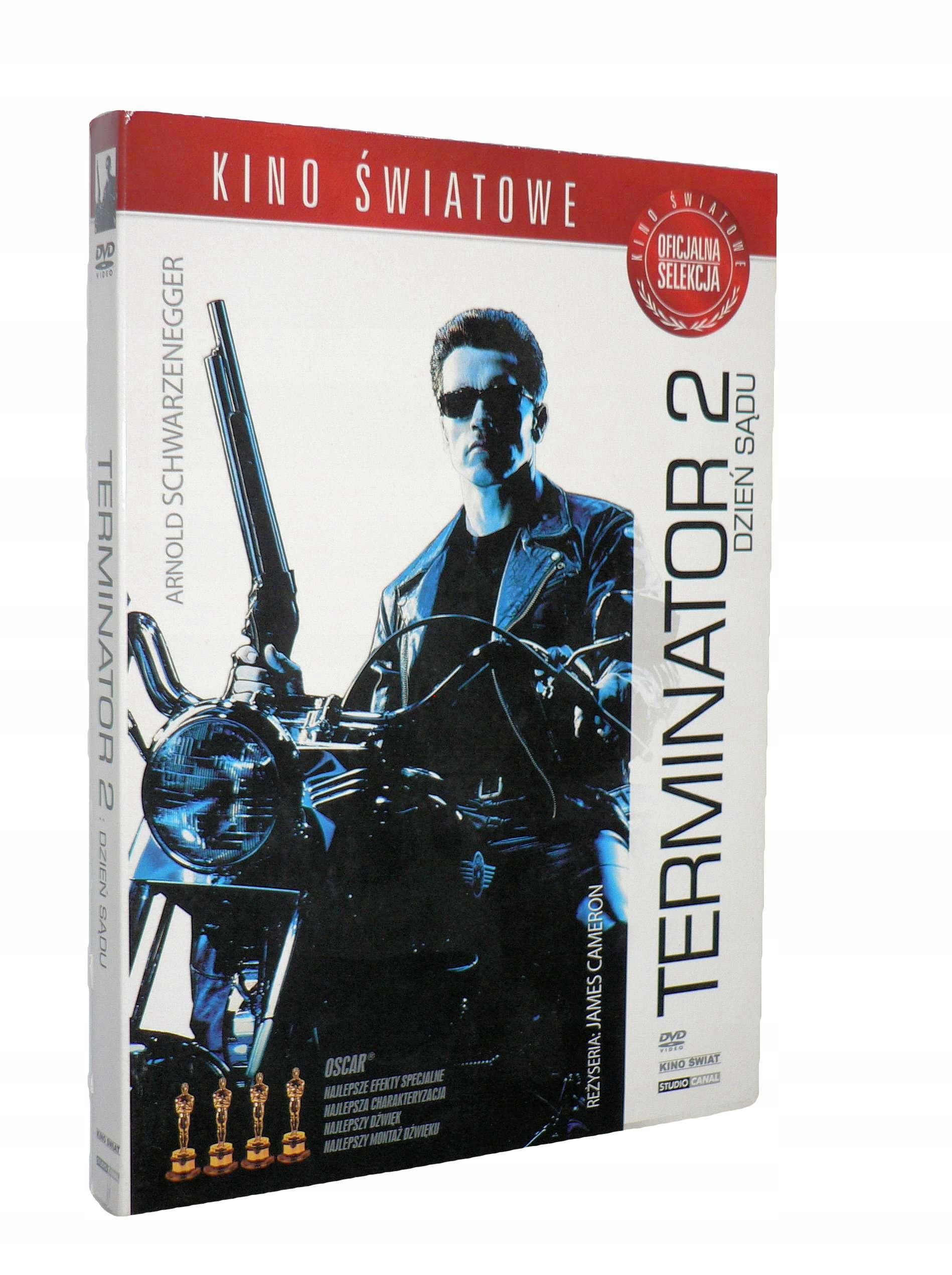DVD - TERMINATOR 2: DZIEŃ SĄDU (1991) - lektor