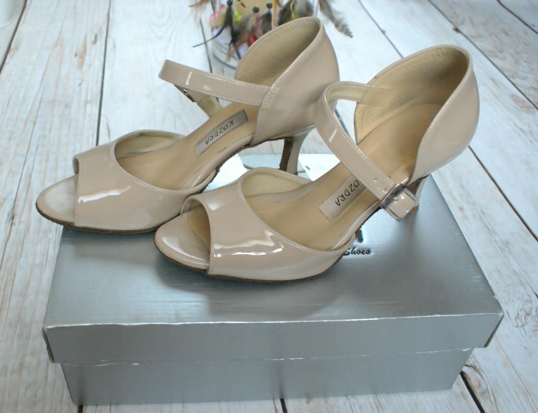 383c2cb2 buty Kozdra 24,5cm 38 buty taneczne do tańca - 7449889973 ...