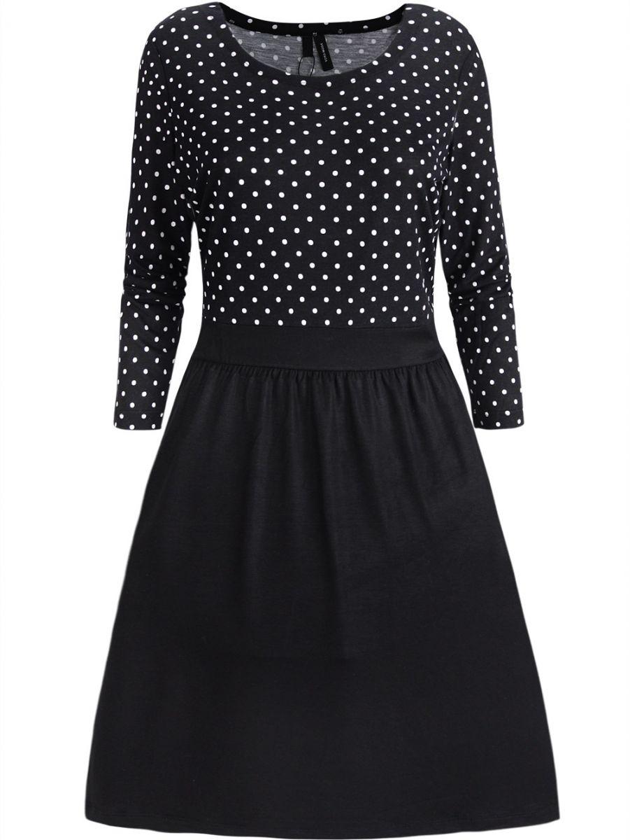 88840c54ff Kobieca sukienka w grochy M - 7258188179 - oficjalne archiwum allegro