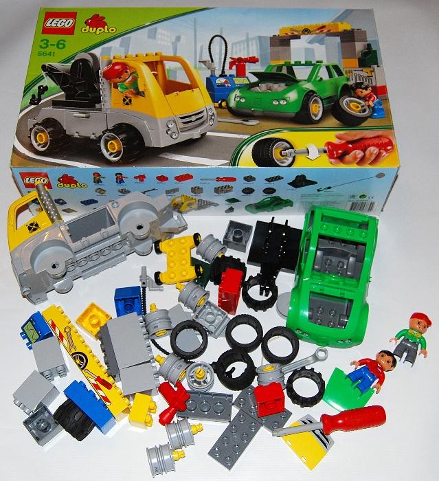 Lego Duplo 5641 Warsztat Samochodowy Stan Idealny 7359212994