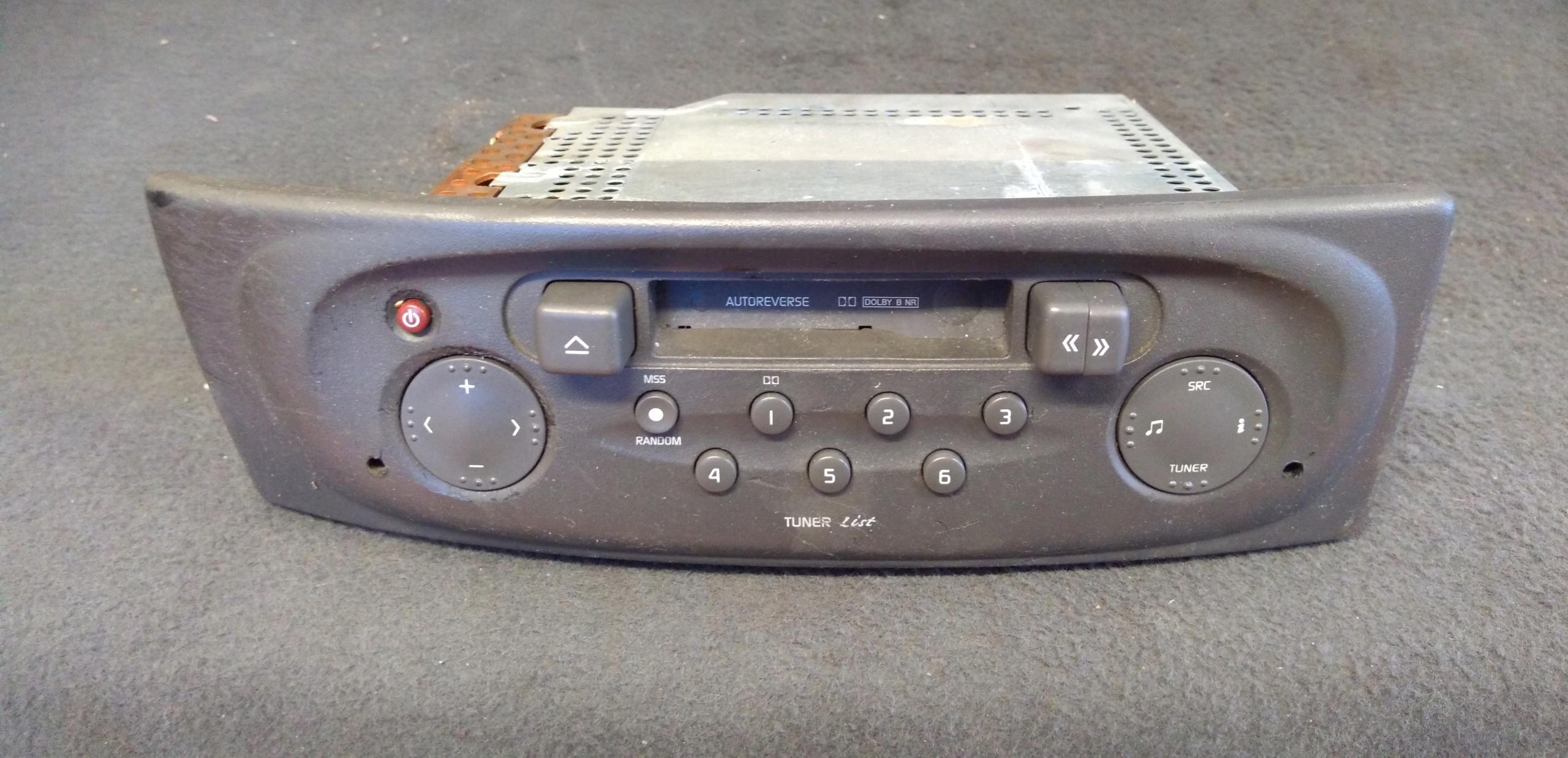 Radio Samochodowe Renault Megane Scenic 22dc258 7443571380