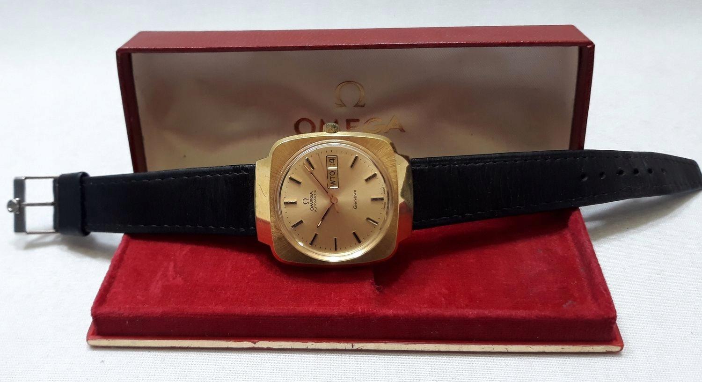 Zegarek Omega Geneve Automat Cal.1012 z 1974r
